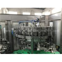 Beer Glass Bottle Filling Machine With Multi Washing Filling Capping Heads Manufactures
