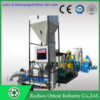 700-1000KG/H Capacity Mobile Small Complete Biomass Pelleting Plant Manufactures