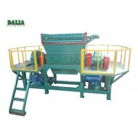 Customized Design Double Shaft Shredder Machine DLS-10 For Metal Recycling Manufactures