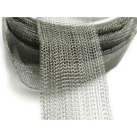 304 Stainless Steel Knitted Wire Meshl Gas Liquid Filter Woven Knitted Twill Weave Manufactures