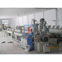 Plastic HDPE pipe extrusion machine 800kg/h  - 1500kg/h with single screw Manufactures