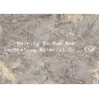 Quality PVC Foam Board Cover Decorative Door Film Marble Design Corrosion Resistance for sale
