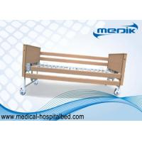 Disabled Care Electric Foldable Nursing Home Bed Locking Wheels Manufactures