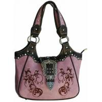 2014 cowgirl western 3-set buckles crystal handbags factory Manufactures