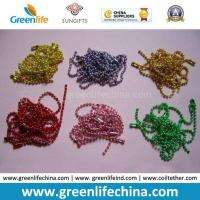 China 2.4mm Metal Fashionable Colors Ball Chain Room Divider with Connector on sale