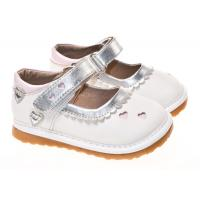 hot selling fashion leather squeaky kid shoes dress shoe SQ-A11201WH Manufactures