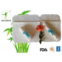 China Gentle Softness Bamboo Flushable Baby Wipes For Baby Sensitive Skin / Mother Using on sale