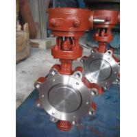 Simple structure SS316 / SS304 stainless steel Lug Butterfly Valve for Waterworks Purpose Manufactures