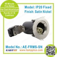 IP20 Fixed Satin Nickel Fire Rated Downlight | Die Cast | Fast Delivery Manufactures
