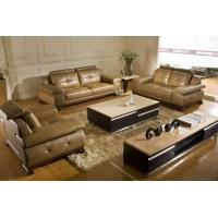 China Top Grain Cow Leather Sofa Set, High Quality Function Sofa Couch, Head on sale
