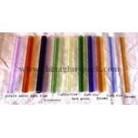 China Borosilicate colored glass tubing on sale