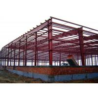 China Ready Made Steel Structure Warehouse Workshop / Industrial Building Construction on sale