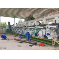 Sawdust Pellet / Wood Pellet Production Line 8-10T/H One Year Warranty Manufactures
