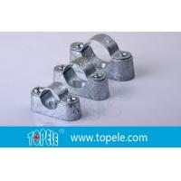Quality BS31 / BS4568 Conduit Fittings 20mm Malleable Iron Heavy Duty Distance Saddle With Base for sale