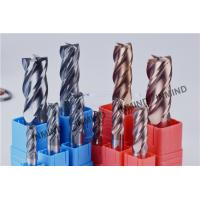 1 mm - 12 mm Square End Mill Special Carbide Tools High Hardness H6 Tolerance Manufactures