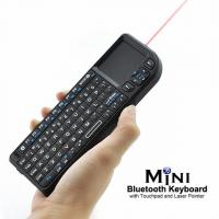China Mini Bluetooth keyboard with touchpad and laser pointer on sale