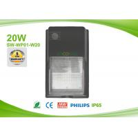 Photocell high lumen LED Wall Pack Lights , led exterior wall pack with daylight switch Manufactures