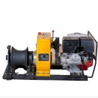 China Power Construction Portable Capstan Winch , Hoist Pole Setting 8 Ton Winch on sale