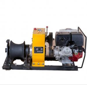 China Power Construction Portable Capstan Winch, Hoist Pole Setting 8 Ton Winch on sale