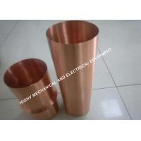Red Copper C1100 Spare Parts For Machinery For Furniture Decoration Manufactures