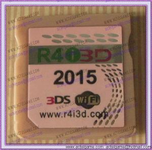 R4i3DS r4i3d 2015 3ds game card 3ds flash card for 3DSLL 3DS NDSixl NDSi NDSL Manufactures