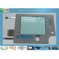 China Silver ESD Layer 8 mm Embossing Key Membrane Switch With Multilayer on sale