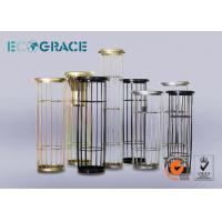 Industrial Dust Collector Filter Bag Cage , Galvanized Treatment Manufactures