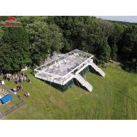 Clear Luxury Wedding Tents For 500 People Easy Assembly And Disassembly Manufactures