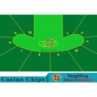 2400*1400mm Touch Comfort Casino Table Layout Using Three Anti-Free Cloth Manufactures