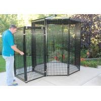 8' Dia Outdoor Parrot Aviary Wire Mesh Galvanized / Powder Coating Surface Manufactures