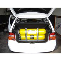 Type 1 Automotive Cng Steel Cylinder Od 325mm , 34crmo4 Steel Compressed Natural Gas Tanks Manufactures