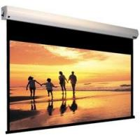 HD Flexible White Motorised Projection Screens With Fiberglass Matte Material Manufactures