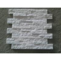 China white quartzite Cultured Stone/Natural Stone/ Wall Panel export by Factory with Competieve and Good quality on sale