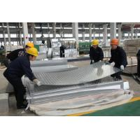 Hot / Cold Rolled Aluminium Diamond Plate With High Weather Resistance Manufactures