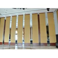 Office Hanging Sliding Door  , Sliding Folding Doors , 85mm Melamine Partition Wall Manufactures