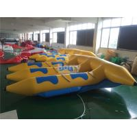 0.9mm PVC Tarpaulin Material Gonflable Flyfish Inflatable Flying Fish Water Ski Tube Towable