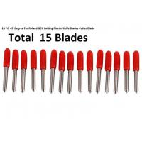 Standard Sign Making Tools , 45° Red 15pcs Roland GCC Cricut Cutting Plotter Manufactures