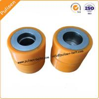 High Strength Polyurethane Rubber PU Coating conveyor Roller urethane wheels Manufactures