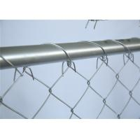 Buy cheap Cross Brace Chain link Construction Fencing Panels OD 41.20mm Wall thick 1.5mm 6'x12' Mesh 57mm x 57mm Diameter 2.2mm from wholesalers