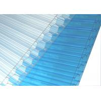 Transparent Honeycomb Polycarbonate Sheet 12mm Thickness High Light Transmission Manufactures