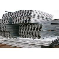 China Galvanized Cold Bending Equilateral / Unequal Channel Steel Q235B on sale
