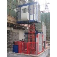 380V 50HZ / 60HZ Construction Material Hoists 1000KGS With Double Cage Manufactures