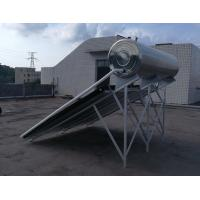 China Integrated Pressurized Flat Plate Solar Water Heater Stainless Steel Tank 0.6Mpa on sale