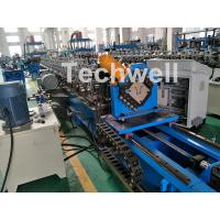 0-15m/Min Forming Speed Hat Channel Cold Forming Machine For Raw Material GI , Carbon Steel Manufactures