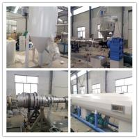 PE / PPR Plastic Pipe Extrusion Line Cool and Hot Water Pipe Single Screw Extruders Manufactures