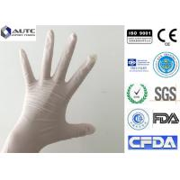 Vinyl Latex Heavy Duty Latex Gloves Slip Resistant Super Toughness Non Toxic Manufactures