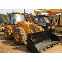 China JCB 4CX 3CX Used Mini Backhoe Loader Construction Equipment 1800 Working hours on sale