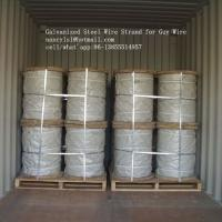 Hot Dipped Galvanized Steel Cable Strand For Overhead Electrical Wire Manufactures