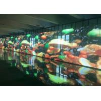 China Custom Transparent LED Display Screen Low Power Consumption 2121 RGB Package Mode on sale