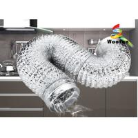 Ventilation Silver Or Gold All Size Aluminum Flexible Duct Aluminum Foil Flexible Ducting Manufactures